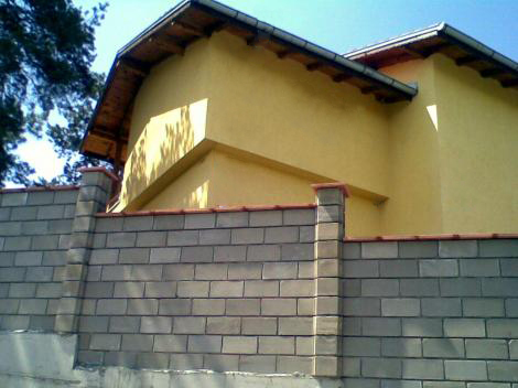 Бетонни капаци за зид и колони